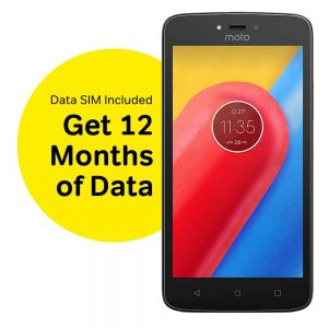 moto phone plus 12 months data included