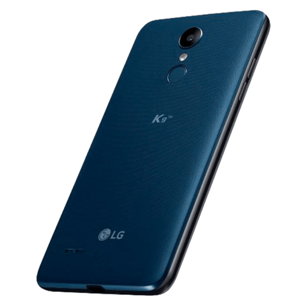 LG K9 Dual SIM Phone back angled photo