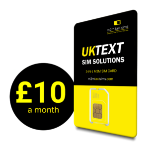 UK Text SIM Solutions by M2MTaxi SIM