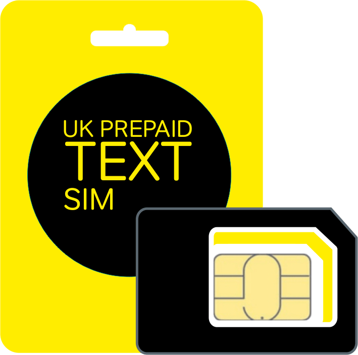 UK PrePaid Text SIM